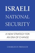 Cover for Israeli National Security - 9780190602932