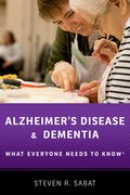 Cover for Alzheimer's Disease and Dementia - 9780190603113