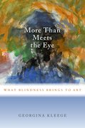 Cover for More than Meets the Eye - 9780190604356