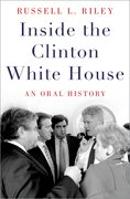 Cover for Inside the Clinton White House - 9780190605469