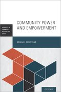 Cover for Community Power and Empowerment