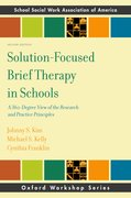 Cover for Solution-Focused Brief Therapy in Schools