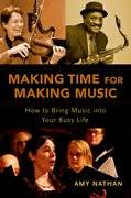 Cover for Making Time for Making Music - 9780190611590