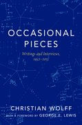 Cover for Occasional Pieces