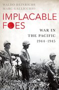 Cover for Implacable Foes - 9780190616755