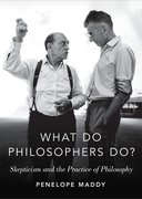 Cover for What do Philosophers Do?