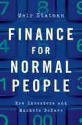 Cover for Finance for Normal People - 9780190626471