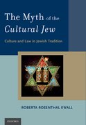 Cover for The Myth of the Cultural Jew - 9780190627256