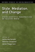 Cover for Style, Mediation, and Change