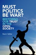 Cover for Must Politics Be War?
