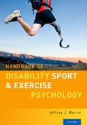 Cover for Handbook of Disability Sport and Exercise Psychology