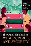 Cover for The Oxford Handbook of Women, Peace, and Security