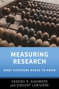Cover for Measuring Research - 9780190640125