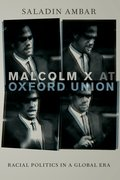 Cover for Malcolm X at Oxford Union - 9780190640835