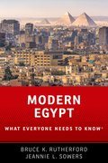 Cover for Modern Egypt - 9780190641153