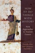 Cover for How to Do Things with History