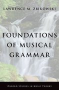 Cover for Foundations of Musical Grammar