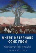Cover for Where Metaphors Come From - 9780190656713