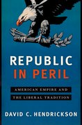 Cover for Republic in Peril
