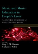 Cover for Music and Music Education in People