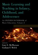 Cover for Music Learning and Teaching in Infancy, Childhood, and Adolescence