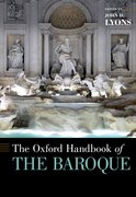 Cover for The Oxford Handbook of the Baroque