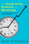 Cover for The Surprising Science of Meetings - 9780190689216