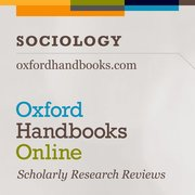 Cover for Oxford Handbooks Online: Sociology - 9780190699413