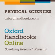 Cover for Oxford Handbooks Online: Physical Sciences - 9780190699420