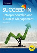Cover for Entrepreneurship and Business Management N6 Student Book