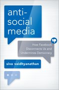 Cover for Antisocial Media - 9780190841164