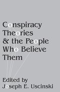 Cover for Conspiracy Theories and the People Who Believe Them
