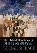 Cover for The Oxford Handbook of Philosophy of Social Science