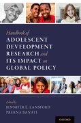 Cover for Handbook of Adolescent Development Research and Its Impact on Global Policy - 9780190847128