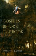 Cover for Gospels before the Book