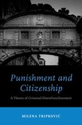 Cover for Punishment and Citizenship