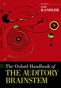 Cover for The Oxford Handbook of the Auditory Brainstem