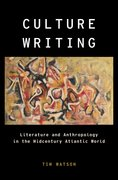 Cover for Culture Writing