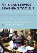 Cover for Critical Service Learning Toolkit - 9780190858728