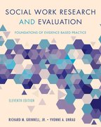 Cover for Social Work Research and Evaluation - 9780190859022