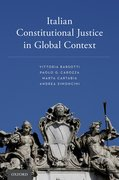 Cover for Italian Constitutional Justice in Global Context