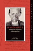 Cover for Schoenberg's Models for Beginners in Composition - 9780190865658