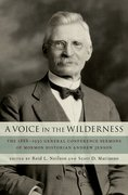 Cover for A Voice in the Wilderness
