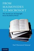 Cover for From Maimonides to Microsoft - 9780190868772