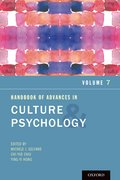 Cover for Handbook of Advances in Culture and Psychology, Volume 7