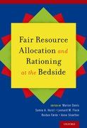 Cover for Fair Resource Allocation and Rationing at the Bedside - 9780190882136