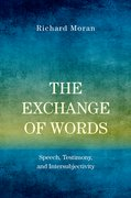 Cover for The Exchange of Words - 9780190882907