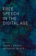 Cover for Free Speech in the Digital Age - 9780190883607