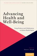 Cover for Advancing Health and Well-Being - 9780190884734