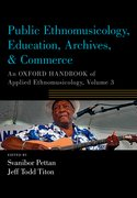 Cover for Public Ethnomusicology, Education, Archives, & Commerce